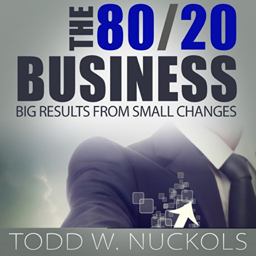 The 80/20 Business audiobook cover art