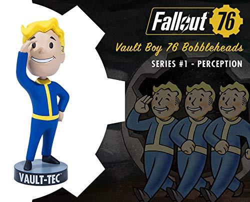 Fallout 76 Bobblehead Wackel -Figur Vault Boy Perception Material: PVC, Hersteller: The IP Factory / Gaming Heads.