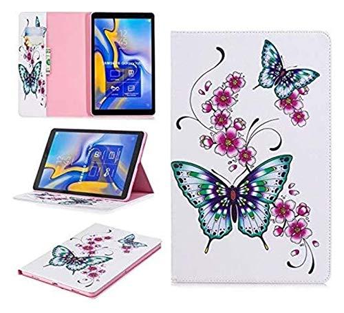 Accesorios de pestañas para Samsung Galaxy Tab a A2 10.5, Funda de Cuero PU de Oso de Flip Owl para Samsung Galaxy Tab a A2 10.5 (Color : 04)