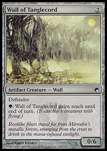 Magic: the Gathering - Wall of Tanglecord - Scars of Mirrodin