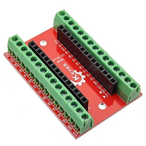 Für Arduino – Produkte, die mit offiziellen Arduino Boards Nano IO Shield Expansion Board Erweiterungsboard Modul arbeiten.