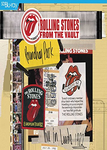 The Rolling Stones - From The Vault - Live in Leeds 1982 [Blu-ray SD upscalée] [SD Blu-ray (SD upscalée)]