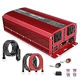 LVYUAN 1500W/3000W Power Inverter Dual AC...