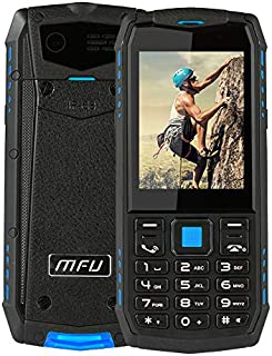 Senior Button Cell Phone,Rugged Phone Unlocked Cell Phone IP68 Waterproof Shockproof Dustproof Large Button Large Character Large Screen 3G Powerful Battery Super Flashlight SOS Best Gifts for Parents