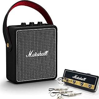 Marshall マーシャル STOCKWELL2 ブラック スピーカー + Marshall ロゴ入りキーハンガー セット 《国内正規品》