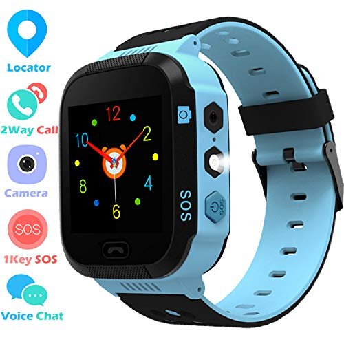 MeritSoar Tech Niños Smartwatch Phone - LBS...