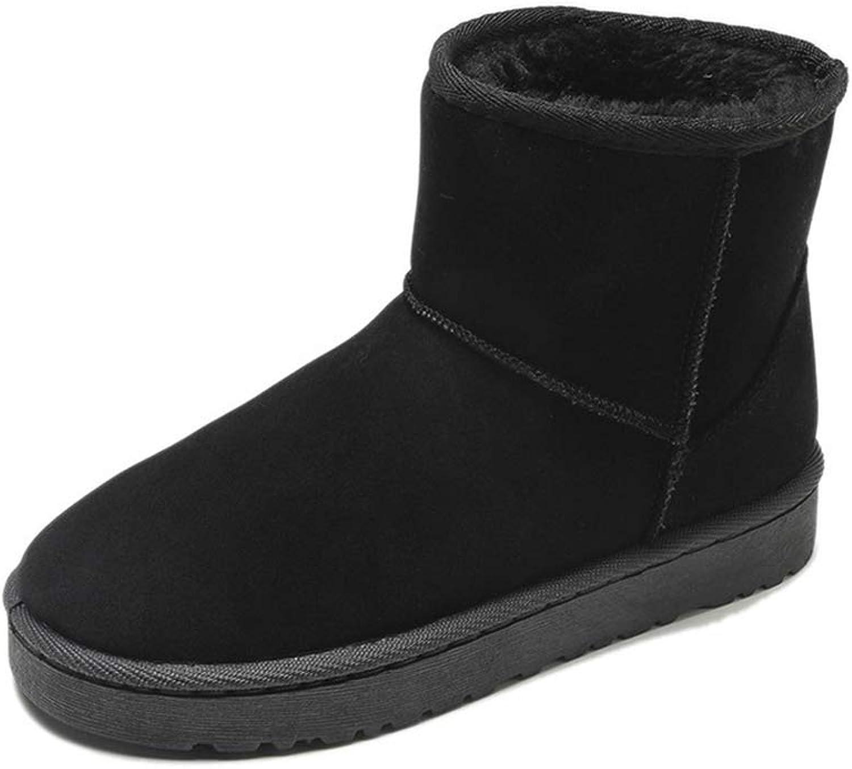 Hoxekle Classic Fashion Ankle Winter Boots Women Snow Boots Plush Women shoes Woman Female