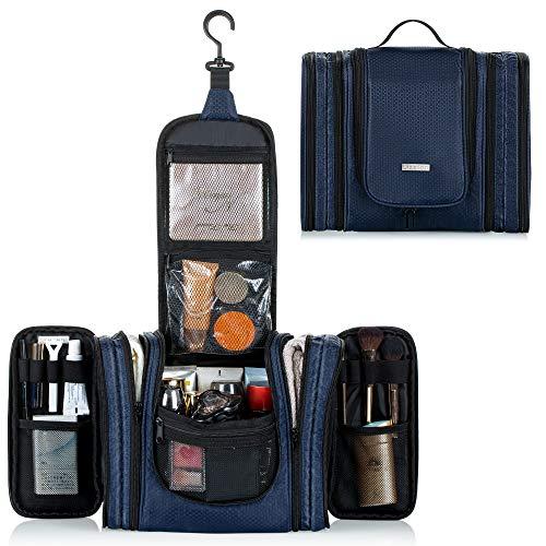Großer Kulturbeutel zum Aufhängen für Männer/Frauen, abnehmbare wasserdichte Kulturtasche für Reise, Reisezubehör Organizer Kit, mehrfunktionale Waschtasche, Kosmetiktasche