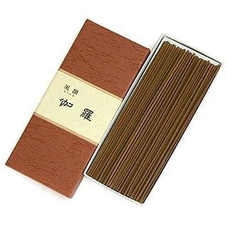 家庭用線香 風韻 伽羅(箱寸法15×6×2.5cm)◆伽羅の極上の香りのお線香(みのり苑)