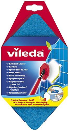 Vileda Bad Blitz Ersatzschwamm, hexagonale Form, für die Badreinigung, kein Verkratzen