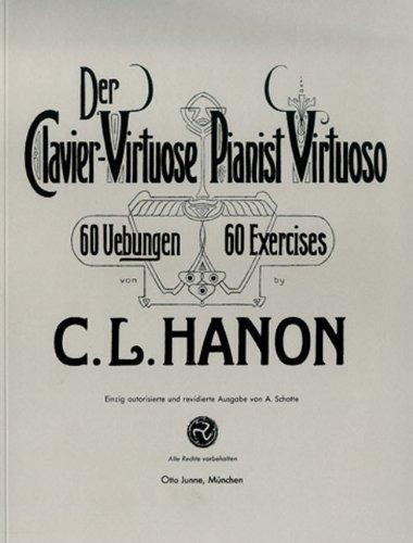 Otto Junne Musikverlag Hanon - Der Klaviervirtuose