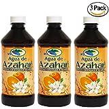 Agua De Azahar 8 Oz Orange Flower Blossom Water 3-PACK By Madre Tierra