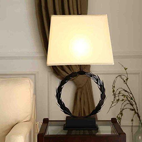 ZWL Retro Lamp Living Room Chambre Étude Creative personnalité décorative Big Lamp fashion.z ( Couleur : Noir )