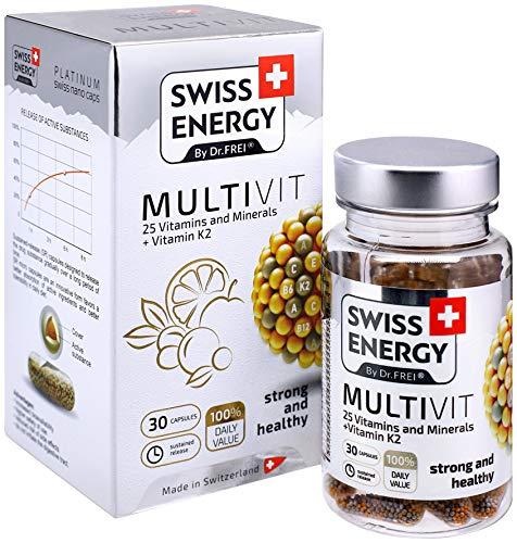 MULTIVIT, 25 Vitamins and Minerals + Vitamin K2