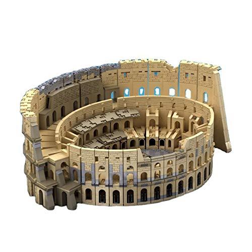 MYRCLMY Erwachsene Und Kinder 3D-Puzzle-Puzzle-Roman-Kolosseum-Weltgebäude-Gebäude-Modell-Kit-BAU-Spielzeug Herren- Und Frauen Geburtstagsgeschenke, 6466 Stück