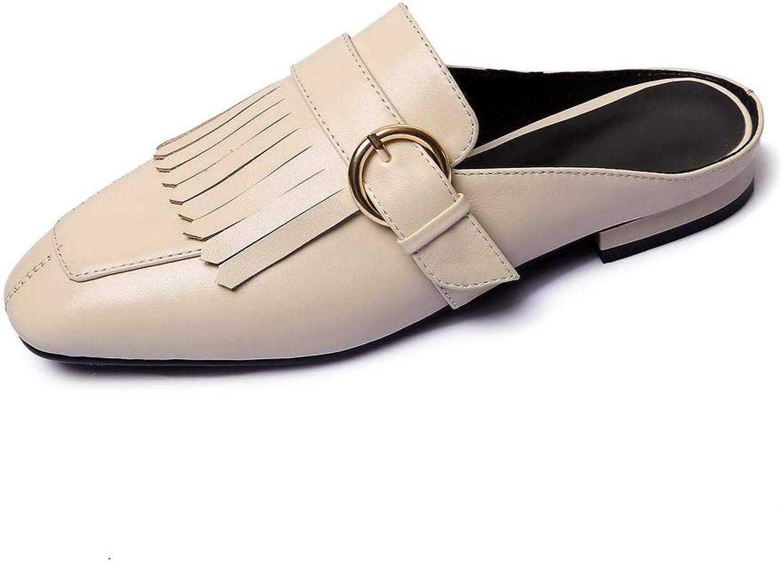 BalaMasa Womens Solid Fringed Comfort Urethane Sandals ASL05667