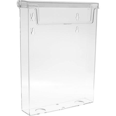 Werbung für Aussen Din A5 Prospektständer Flyerhalter,Prospektbox mit Deckel