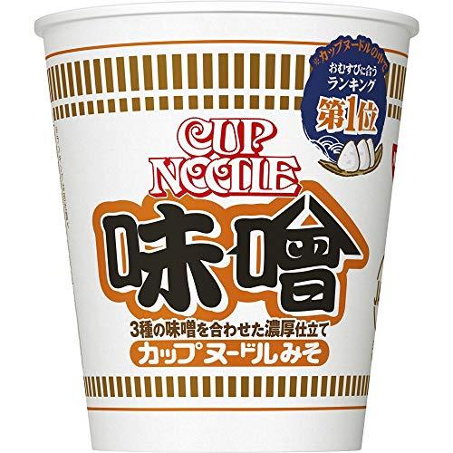 スマートマットライト 日清 カップヌードル 味噌 83g ×20個