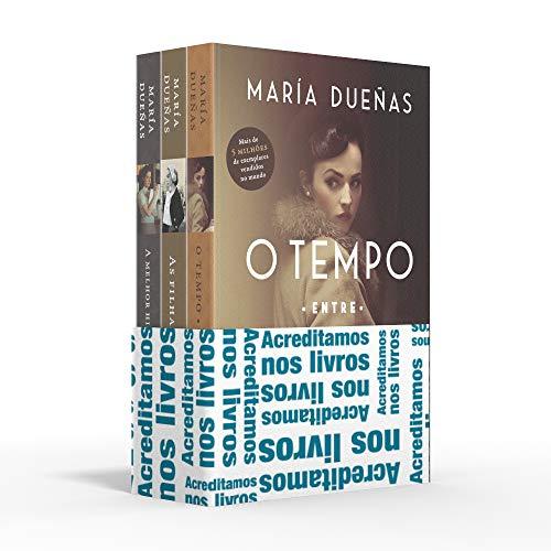 Coletânea María Dueñas - Acreditamos nos livros: O tempo entre costuras / As filhas do capitão / A melhor história está por vir