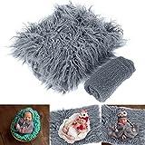 Haokaini accesorios de fotos para recién nacidos conjuntos de envoltura...