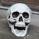 スカルハロウィンホラーはプラスチックシミュレーション室怖いお化け屋敷バー鬼頭人骨の装飾品モデルの小道具