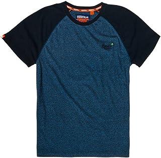 8587c30040165 Superdry Orange Label Baseball S S Tee T-Shirt Homme