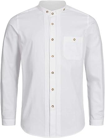 Stockerpoint OC-Fredi - Camisa para traje regional con cuello ...
