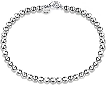 Hosaire Sleek and Stylish Silver Flower Bracelet, Pearl Bracelets New Style for Women Jewellery Accessories 2017