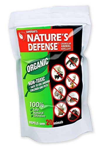 Bird-X Nature's Defense Organic – Repelente de Animales y plagas, Todos los repelentes de Animales y…
