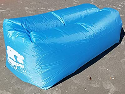 Uniq2U Inflatable Lounger (Light Blue) - Portable,Water Proof & Anti-Air Leaking Design-Ideal for Backyard Lakeside Beach Traveling Camping Picnics & Music Festivals
