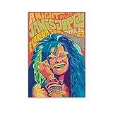 chenyun Psychedelic Poster Janis Joplin Poster Dekorative