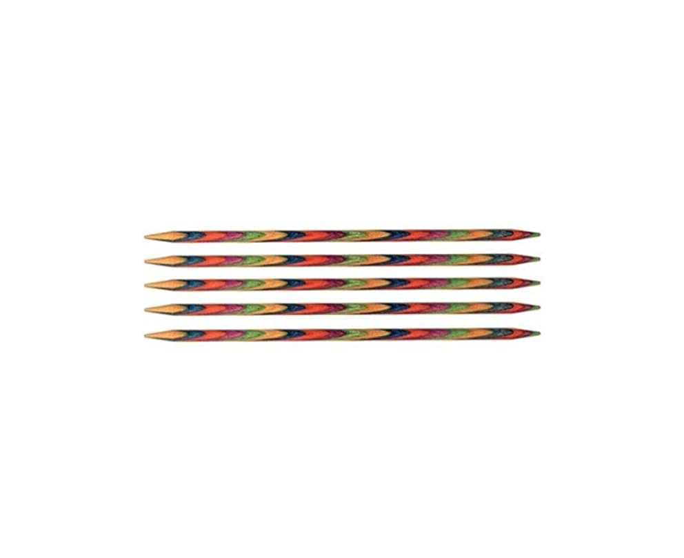 KnitPro KP20131 | Symfonie Double Pointed Knitting Needle | 3?mm x 10cm | 5 pack