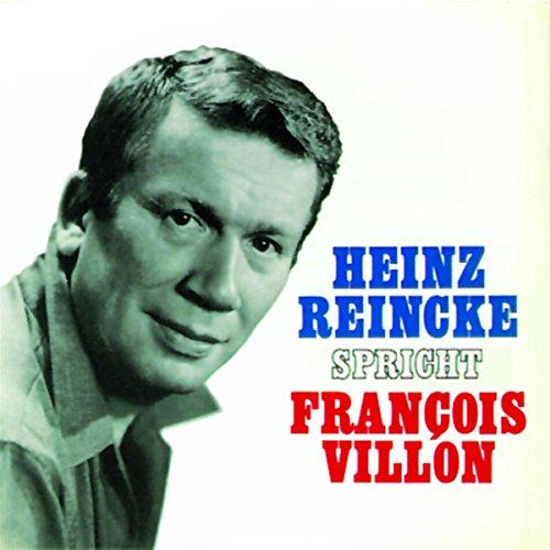Couverture de Heinz Reincke spricht François Villon