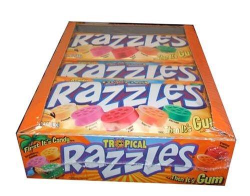 Tropical Razzles Candy (24 unidades) de Tropical Razzles Candy (24 unidades)