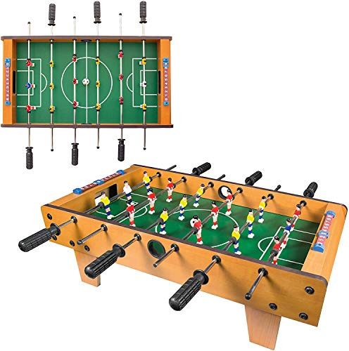 Magicwand® Mid Size Portable Foosball Soccer Game Table Set for Kids (Large)
