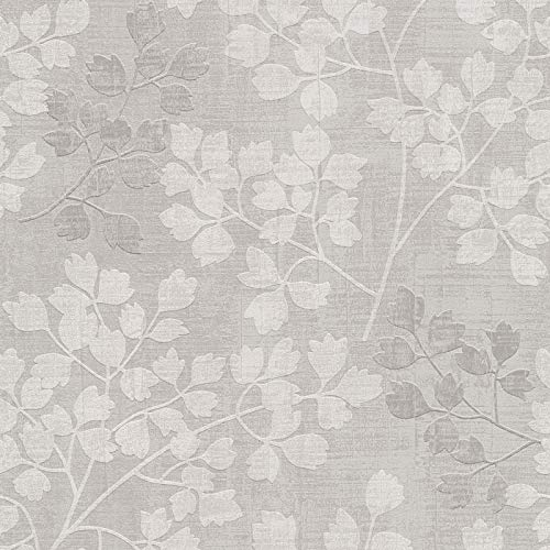 Vliestapete Palmen-Tapete 335922 33592-2 Innova Memory 3   Beige/Crème Grau   Rolle (10,05 x 0,53 m) = 5,33 m²