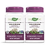 Nature's Way Valerian; 08% Valerenic Acids; Non-GMO Project Verified; Gluten Free; 90 VCaps (Pack of 2)