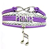 DOLON Infinity Love Prince Bracelet Memorabilia Collectible Music Charm Fans Gift