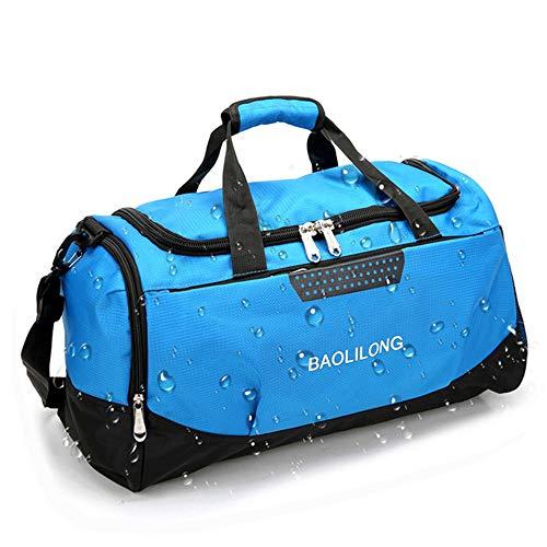 Sac porté épauleGrand Sac de Sport de Sport avec des Poches de Chaussures Hommes/Femmes en Plein air imperméable à l'eau Fitness Training Duffle Bag Travel Yoga Handbag