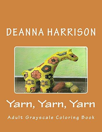 H9U.eBook] Yarn, Yarn, Yarn: Adult Grayscale Coloring Book ...
