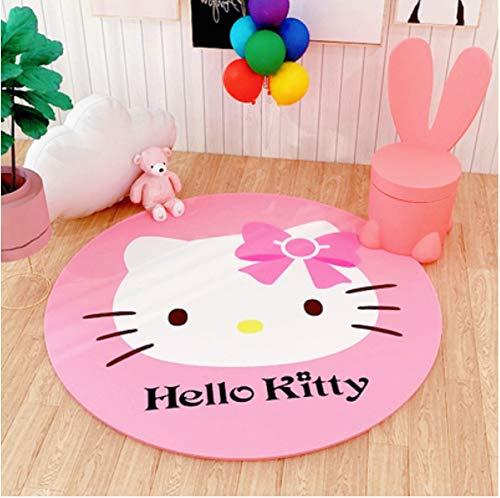 juan Alfombra Dibujos Animados Hello Kitty Habitación De Moda Dormitorio Sala De Estar Entrada Alfombrilla Alfombras Personalidad Mesa De Centro Decoración Antideslizante Interior 80 Cm