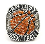 Fantasy Basketball Leagues Champions Championship Anneaux Trophies Prix Médailles Prix Pas d'Ans