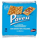 Gran Pavesi - Cracker Salati Senza Granelli di Sale in Superficie 560g