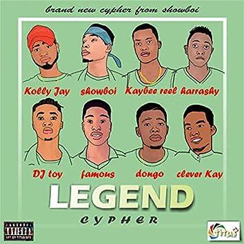 Legend Cypher (feat. Kolijay, King Harrashy, Kaybee Real, Dj Toy, Famous, Dongo & Clever Kay)
