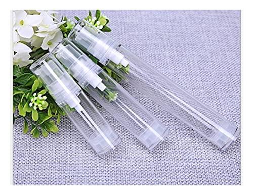 Botella de bomba de loción 1 UNID VACÍO BOTAS COSMÉTICAS AIRE LAS BOTELES AIRNES BOTELLAS DE PLÁSTICO Presión de vacío Botella de emulsión con la bomba de loción en el envasado de viaje El plastico