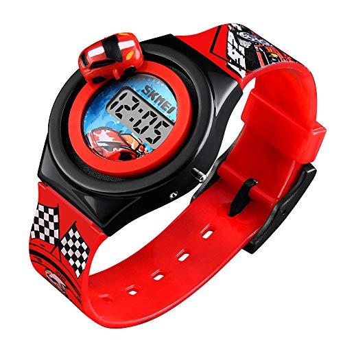Armbanduhren Modetrend Kann Kreative Geschenke Der Autokinder Drehen Welche Die Kinder Uhr Rotes C Unterrichten