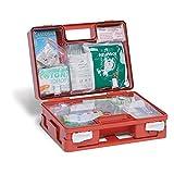 Caja de primeros auxilios empresarial completa, conforme al D.M. 388 y D.L. 81, Anexo 2, contenido aumentado