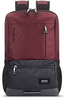 Solo Draft Slim Backpack, Burgundy