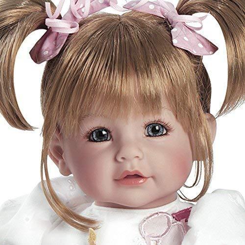 Adora Realistic Baby Doll Happy Birthday, Baby Toddler Doll - 20 inch, Soft CuddleMe Vinyl, Sandy Blonde Hair, Blue Eyes