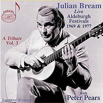 Julian Bream: A Tribute, Vol. 3 (Live)